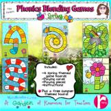 Phonics Blending Games Spring Theme