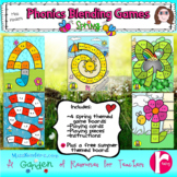 Phonics Blending Games Spring Theme