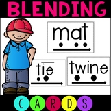 Phonics Blending Word Cards for RTI Includes Digital File
