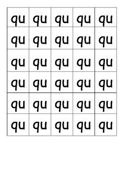 Phonics - Blending Words 'ch' and 'qu'