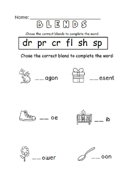 Phonics & Blends