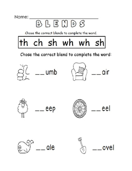 Phonics & Blends