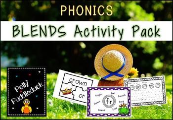 Phonics Blends Activity Pack
