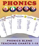 Phonics Blends Bingo - Classroom Phonics Teaching Charts