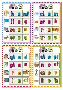 Blends {Consonant Blends in Initial and Final Position}