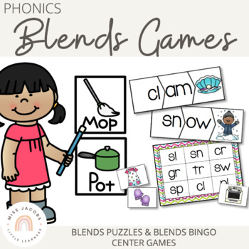 Phonics: Blends Games