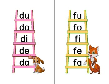 Phonics Blends Ladders--Letter size