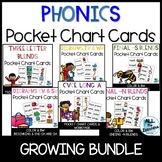 Phonics Pocket Chart Bundle Distance Learning