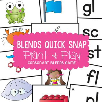 Blends Quick Snap - Center /  Game Activity