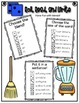 Phonics (Blends) Roll, Read, and Write Activity (Part I) ~ Free!