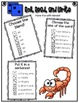 Phonics (Blends) Roll, Read, and Write Activity (Part III)
