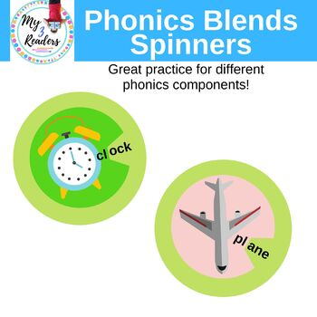 Phonics Blends Spinners