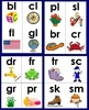 Phonics Blends and Digraphs Flashcards