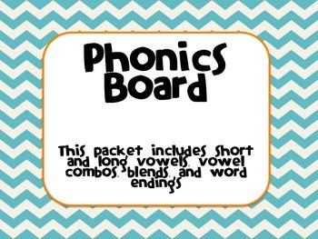 Phonics Board
