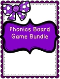 Phonics Board Game Bundle (Color and Black and White)