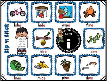 CVCE / Magic e Literacy Station