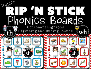 Phonics Boards for Consonant Digraphs