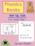 Phonics Book (CVC Words) AND Reading Comprehension - Get Up, Cub