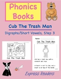 Phonics Book (Digraphs/Short Vowels) AND Reading Comp. - C