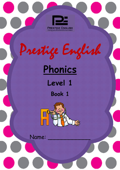 Phonics Book – Level 1 Book 1 ( Jolly Phonics / Letterland )