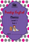 Phonics Book – Level 1 Book 1 ( Jolly Phonics / Letterland )