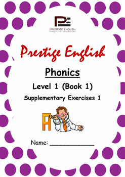 Phonics Book – Level 1 (Book 1) – Supplementary Exercises 1 (Jolly Phonics)