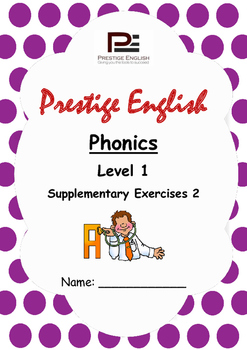 Phonics Book – Level 1 (Book 1) – Supplementary Exercises 2 ( Jolly Phonics )