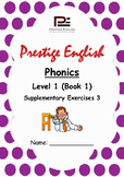 Phonics Book – Level 1 (Book 1) – Supplementary Exercises 3 ( Jolly Phonics )