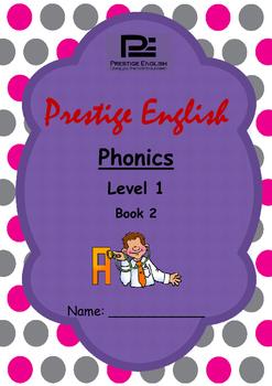 Phonics Book – Level 1 Book 2 ( Jolly Phonics / Letterland ) (Digraphs)