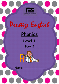 Phonics Book – Level 1 Book 2 ( Jolly Phonics / Letterland ) (Digraphs)