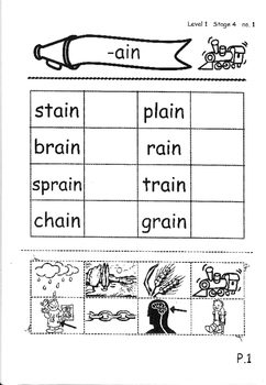 Phonics Book – Level 1 (Book 2) – Supplementary Exercises 4 ( Jolly Phonics )