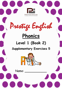 Phonics Book – Level 1 (Book 2) – Supplementary Exercises 5 ( Jolly Phonics )