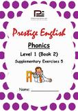 Phonics Book – Level 1 (Book 2) – Supplementary Exercises 5 ( Jolly Phonics )