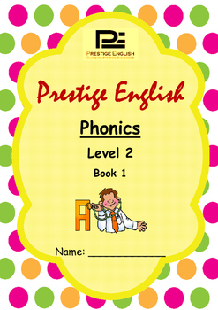 Phonics Book – Level 2 Book 1 ( Jolly Phonics / Letterland ) (Consonant Blends)