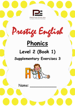 Phonics Book – Level 2 (Book 1) – Supplementary Exercises 3 ( Jolly Phonics )