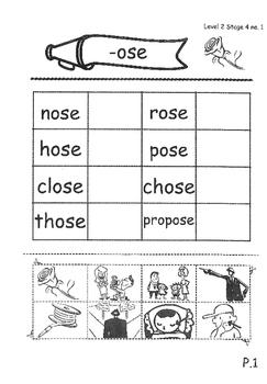 Phonics Book – Level 2 (Book 2) – Supplementary Exercises 4 ( Jolly Phonics )
