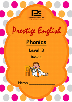 Phonics Book – Level 3 Book 1 ( Jolly Phonics / Letterland ) (Digraphs)