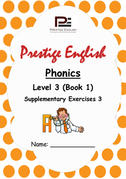 Phonics Book – Level 3 (Book 1) – Supplementary Exercises 3 ( Jolly Phonics )