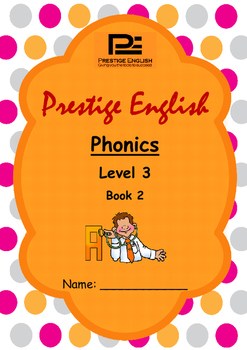Phonics Book – Level 3 Book 2 ( Jolly Phonics / Letterland ) (Trigraphs)