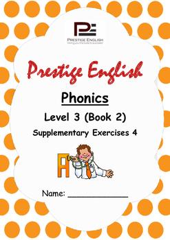 Phonics Book – Level 3 (Book 2) – Supplementary Exercises 4 ( Jolly Phonics )