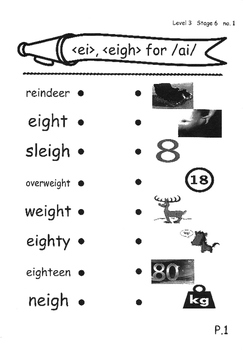 Phonics Book – Level 3 (Book 2) – Supplementary Exercises 6 ( Jolly Phonics )