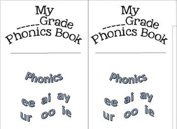 Phonics Book, Word Work