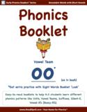 Phonics Booklet 8 - 'oo' short (Vowel Teams)