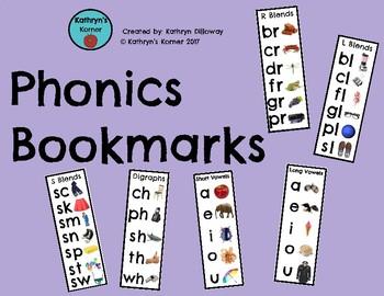 Phonics Bookmarks