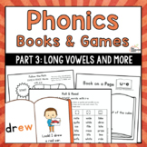 Phonics Books & Games: Long Vowels, R-Influenced Vowels, Diphthongs & More