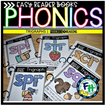 Phonics Books Trigraphs {Easy Readers}