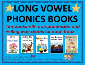 Decodable Phonics Readers