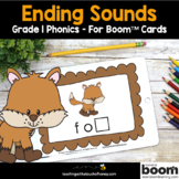Phonics Boom Cards - Digital Phonics Activities Ending Sou