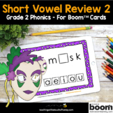 Phonics Boom Cards - Digital Phonics Activities Short Vowe