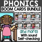 ELA Phonics Boom Cards Bundle Distance Learning
